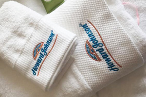 Howard Johnson International hotel towel partner