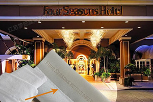 High quality MOFISI hotel towel sets purchased by Four Seasons Hotels