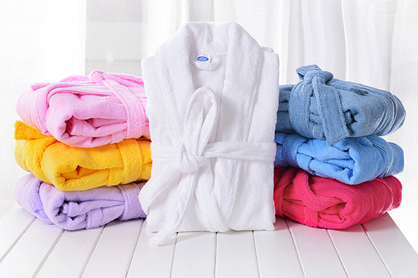 Thick Cotton Terry Cloth Robes Customised, Unisex Adults Bathrobes Sets Supplier