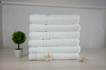 Luxury high quality factory price white 100% cotton bath towels
