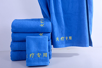 High quality cheap wholesale plain weave embroidery 100% cotton high temperature resistant towel