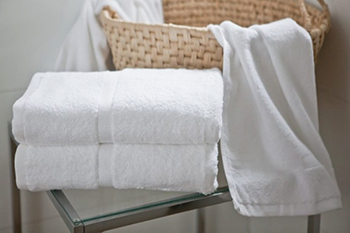 Wholesale hotel towels luxury satin white 100% cotton hotel towel