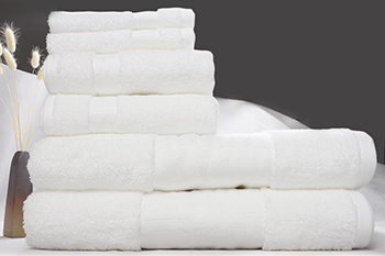 China factory luxury hotel towels wholesale custom embroidery white hotel terry towel sets
