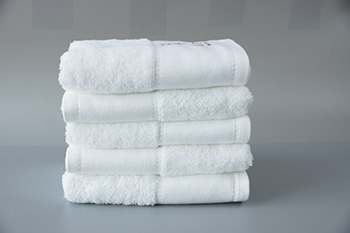 China factory custom towels custom hand towels luxury hotel in top quality