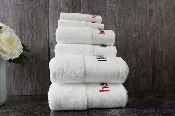 High quality star hotel towel, wholesale cotton hotel towel sets