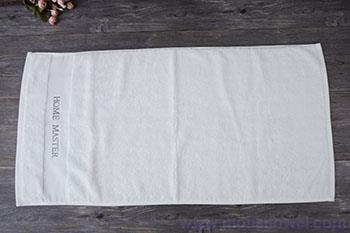 Hand towel customised, pure white hotel cotton hand towels