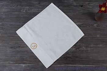Luxury embroidery face towels,100 cotton customised personalized