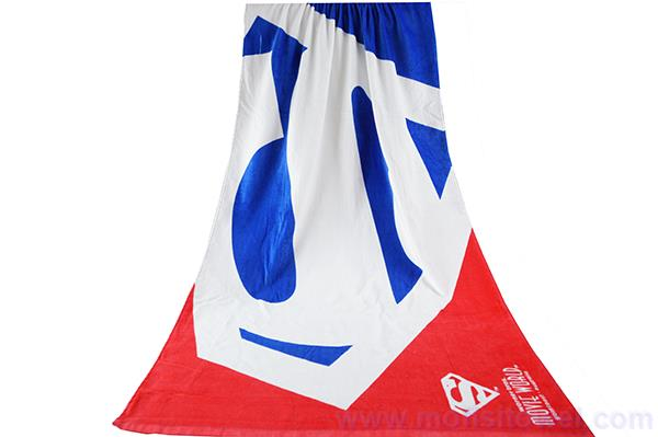 Towel wholesale custom reactive printed beach towel