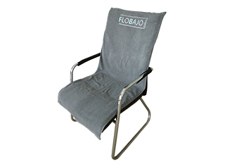 100 cotton towel lounge chaircover towel with pocket for bench