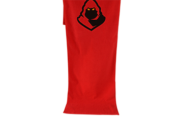 Gym towel buy,red towel with custom black embroidery towel