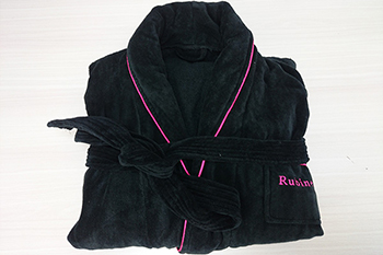 Best quality 100% cotton bathrobe with custom logo