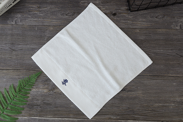 White Face Wash Towel,100 Cotton 35*35cm Size Towel For Hotel