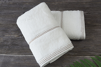 Colored Weft Cotton 150g Dobby Hand Towels,50g Face Towel