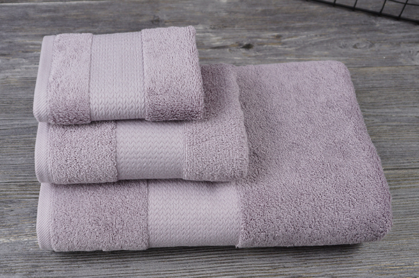 3 pack bath and face towel for wedding gift bathroom towel set