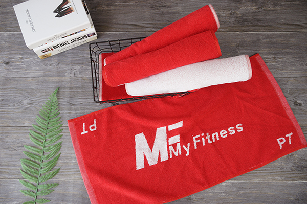 Newest custom design color your own workout towel for fitness