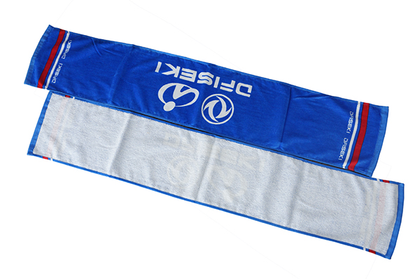 100 Cotton eco absorbent sweat towels for custom rally towel