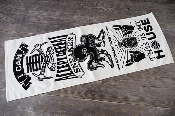 Velvet personalized gym towel,Printed pattern sublimated towel