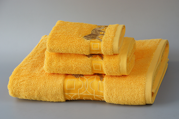 Custom luxury gift towel 3pc set with package box