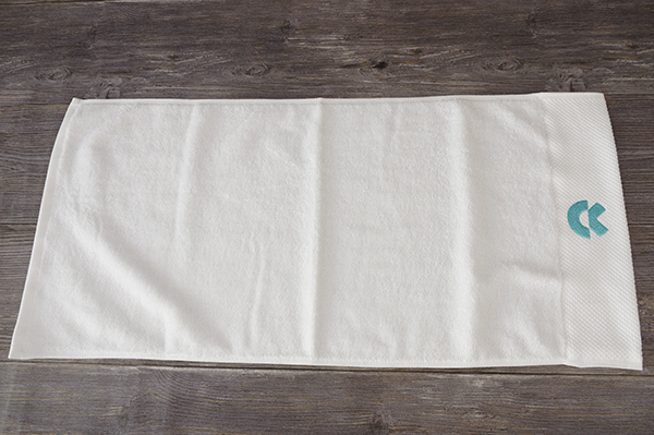 Custom coton hand towel personalized embroidery patterns