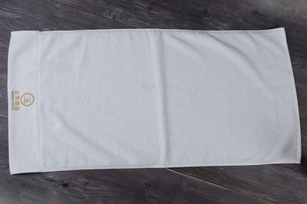Wholesale 100 cotton terry cloth fabric hand towel