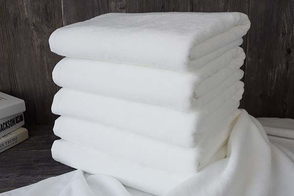 100 Cotton durable plain weave hotel bathroom body towels