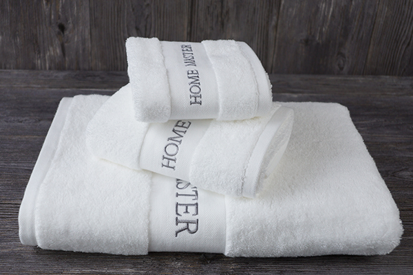 Wholesale new pure cotton hotel towel sets 5 star logo