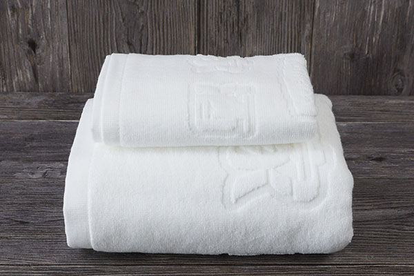 Manufacturers wholesale luxury jacquard design hotel towel