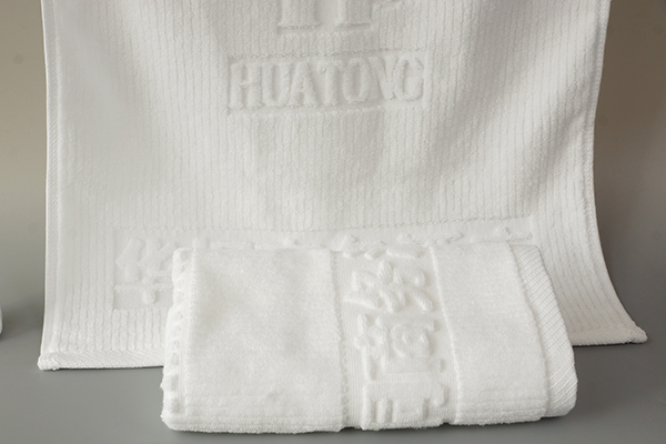 Quality cotton towel supplier custom jacquard hotel towels