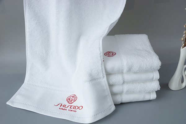 100% Terry Cotton Hand Towel Embroidery Gift Towels for Clients