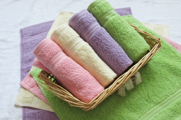 Customised dobby small mini face towel for gift supplier