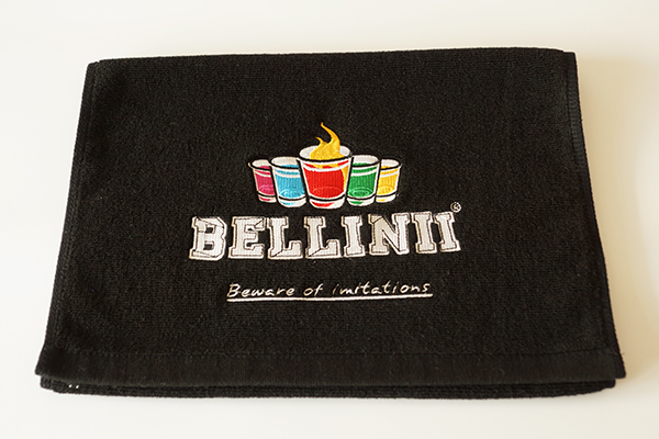 Promotion Adults Cartoon 100% Cotton Bar Gift Hand Towel