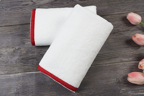 Unqiue New design 100% Cotton Soft White Hand Face Towel