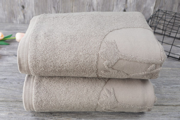 Cotton Hotel Quality Bath Towel Jacquard Designs for Gift Towel