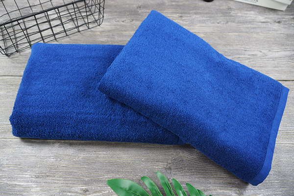 Adults Plain Dyed Gift Bath Towel 100% Cotton Customized