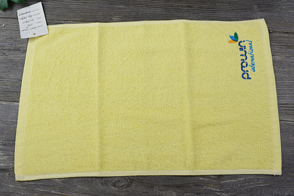 Custom Plain Dyed 30*60cm Small Hand Towel Gift 100 Cotton towel