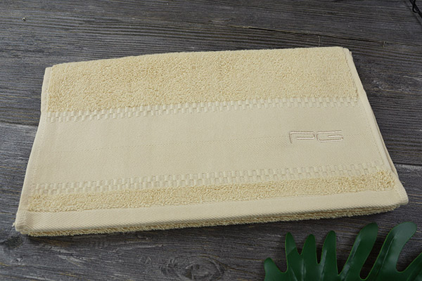 Personalized Dobby Thick Cotton Hand Towel with Embroidery Logo