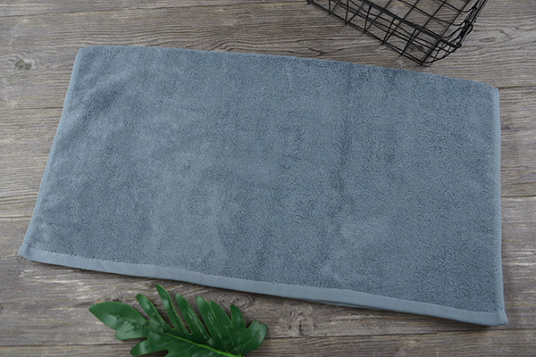 Eco Friendly Cotton Soft 70*140cm Dark Blue Gift bath towel