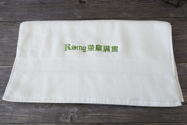 Factory Custom Embroidery Logo Promotional Gift Face Hand  Towel