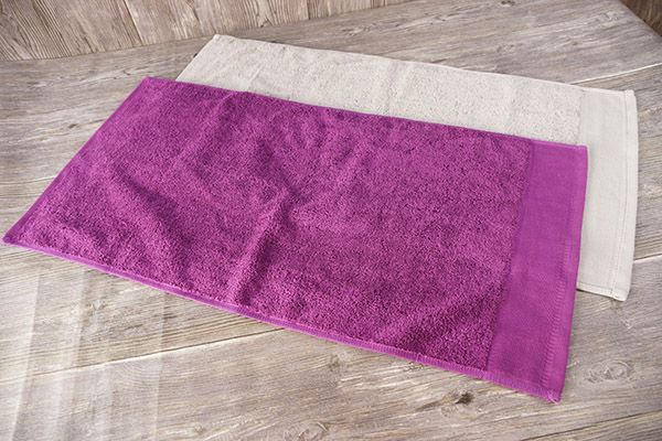 Hand towel amazon hot sale, pure purple,grey cotton towel