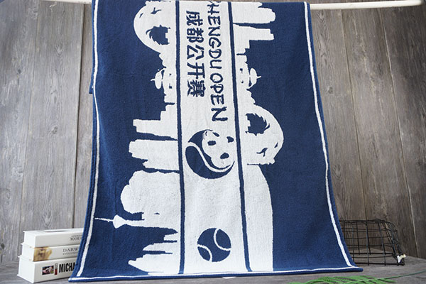 100% Cotton Beach Towel Personality Pattern for Slogan