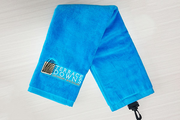 Multi-functional towels, soft and luxurious, durable custom design golf towel