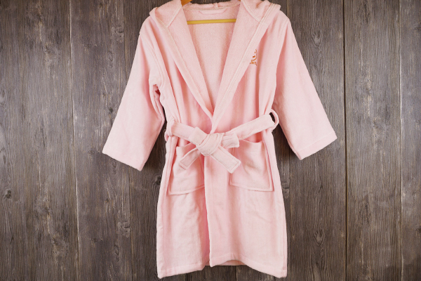 100% Cotton Soft Touch Children Kids Bathrobe