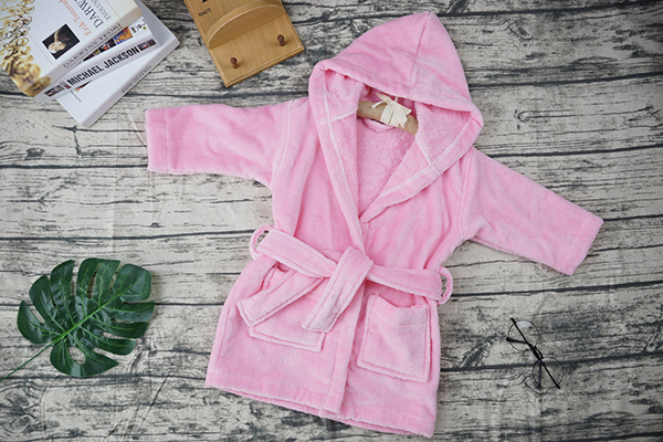 Custom Family Children 100% Cotton Bathrobe