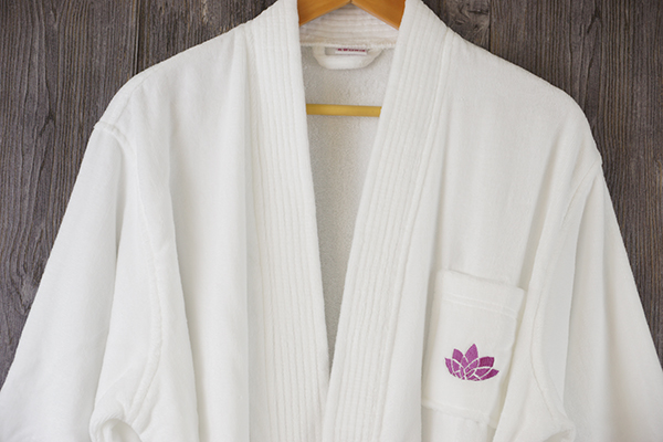 Long velvet bathrobe, velour cotton bathrobe wholesale
