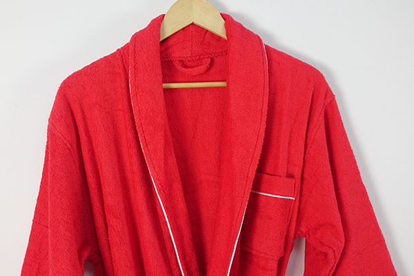 Customized fancy bathrobe, wholesale luxury gift terry bathrobe