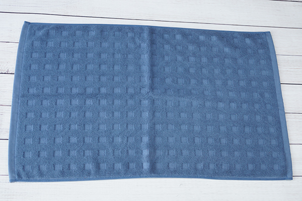 Multi style 100% cotton jacquard soft dyed bath mat