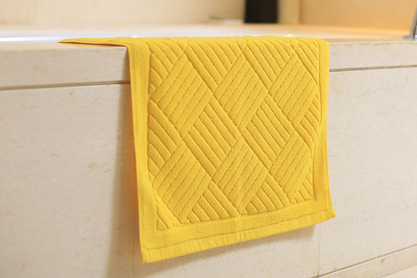 China suppliers multicolor pure cotton bath mat floor mat