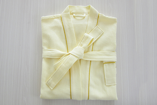 Promotional 100% Cotton Multi-Color Waffle Adult Bath Robe