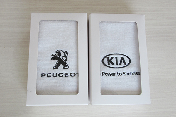 Promotion Cheap Custom Logo Personalized 100% Cotton Hand Towel