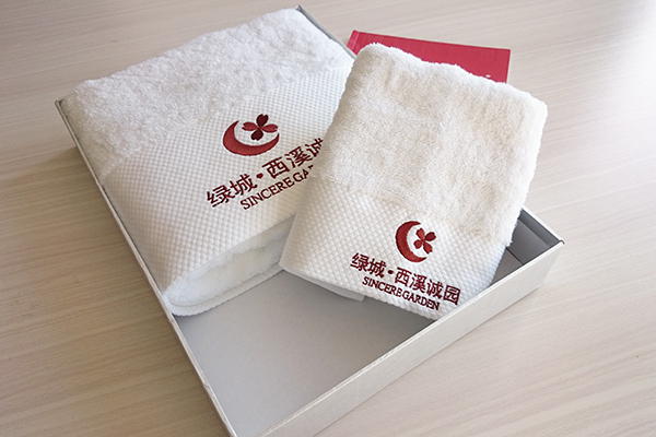 Gift towel manufacturer 100% cotton custom gift towel OEM set packing